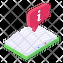 Manual Handbook Info Book Icon