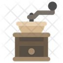 Manual Coffee Grinder Icon