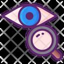 Manual Eye Examination Icon