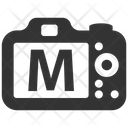 Manual Mood Dslr Icon