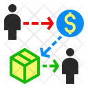 Network Chain Producer Icon