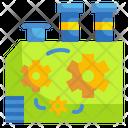 Manufacturer Industry Cogwheel Icon