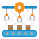 Manufacturing Factory Internet Of Things Icon