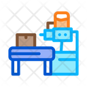 Industrial Manufacturing Process Icon