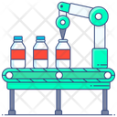 Production Manufacturing Bottle Manufacturing Icon