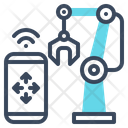 Manufacturing Machine Smart Icon