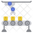 Manufacturing Conveyor Icon