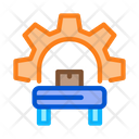 Manufacturing Equipment Process Icon