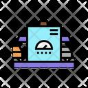 Manufacturing Plant Manufacturing Conveyor Icon