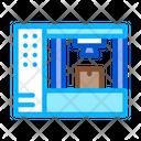 Manufacturing Printer Process Icon