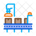 Manufacturing Process Car Icon
