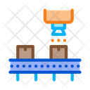 Industry Manufacturing Process Icon