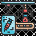 Manufacturing Vaccine Icon