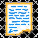 Manuscript Letter Historical Icon