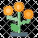Many Money Growth Icon