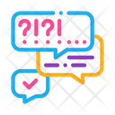 Many Questions Answers Icon