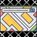 Map Service Search Icon