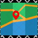 Map Placemark Treasure Icon