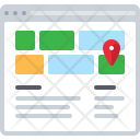 Map Location Contacts Icon