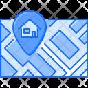 Map Pin Address Icon