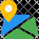 City Map Location Icon