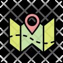 Plan Map Location Icon