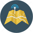 Signals Map Navigation Icon
