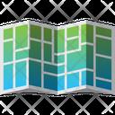 Address City Folded Icon