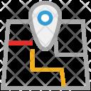 Map Locator Navigation Icon
