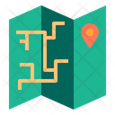 Map Location Landmark Map Direction Icon