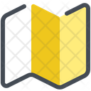 Map Guide Navigation Icon