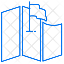 Map Flag Location Icon