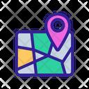 Map Marker Service Icon