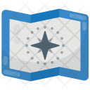 Map Geography Navigation Icon