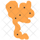 Map Location Asia Icon