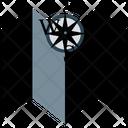 Map Compass Navigation Icon