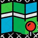 Map Pin Locate Icon