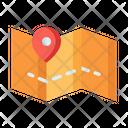 Map Location Pointer Location Marker Icon