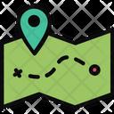 Map Journey Location Icon