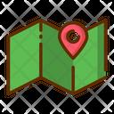 Map Location Location Pin Icon