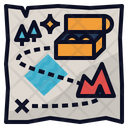 Map Treasure Direction Icon