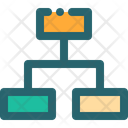 Map Mind Structure Icon