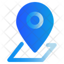 Map Pin Gps Icon