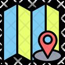 Location Map Gps Icon