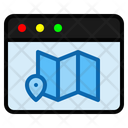 Map Online Pin Icon