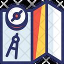 Map Adventure Camp Icon