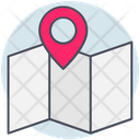 Business Map Paper Icon