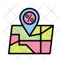 Map Map Place World Icon