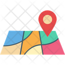 Map Location Direction Icon