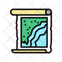Map Roll Color Icon